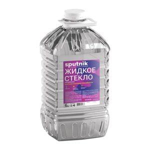"""Жидкое стекло """"Спутник"""" 1.4кг. Высокая клеящея способность 1"""