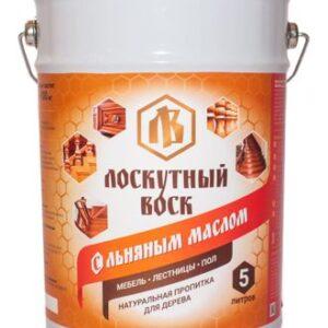 Лоскутный воск с льняным маслом 3л