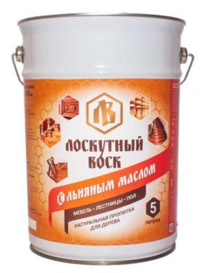 Лоскутный воск с льняным маслом 3л 1