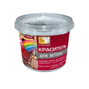 """Краситель для бетона """"Коллекция"""" Черный 0,7кг 1"""
