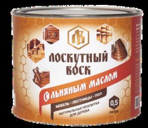 Лоскутный воск с льняным маслом 0.5л 1