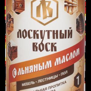 Лоскутный воск с льняным маслом 1л