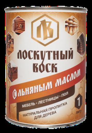 Лоскутный воск с льняным маслом 1л 1