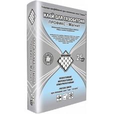 Клей для пено и газоблоков МАГНИТ 25кг Профикс 1