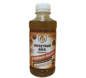 Лоскутный воск с льняным маслом под кисть 0.25л 1