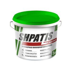Шпаклевка полимерная финишная, 18кг, SHPATIS 1
