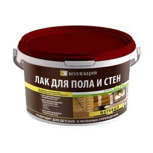 Лак для пола и стен, без запаха, 0.9л, КОЛЛЕКЦИЯ